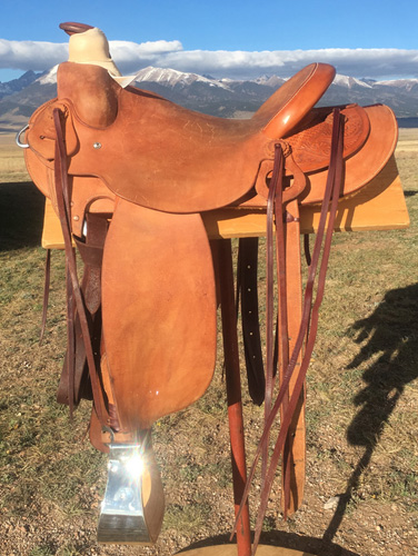 Welcome to LJ's Saddlery, Custom Saddles made by John