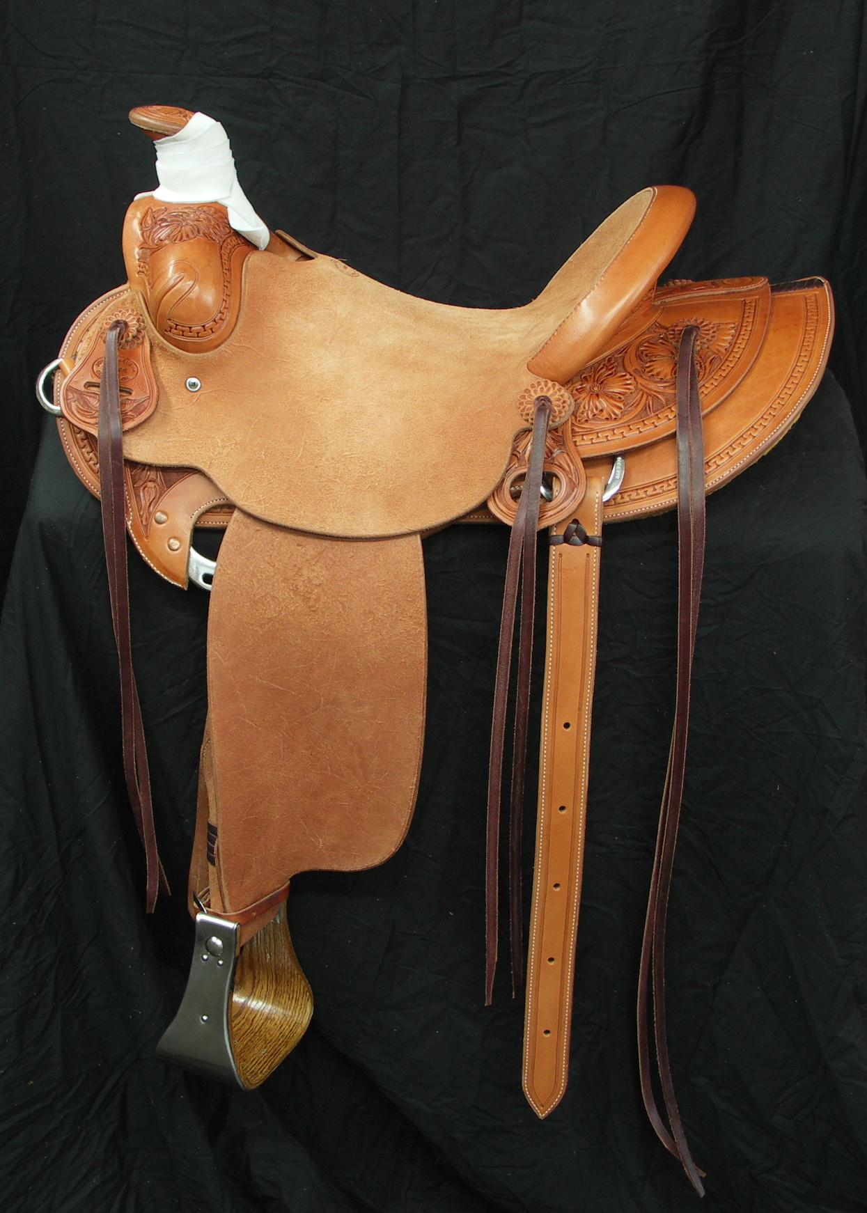 Welcome To Lj S Saddlery Custom Saddles Made By John